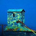 Old Texas Mill by Susanne Van Hulst