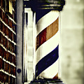 Old Time Barber Pole by Donna Lee
