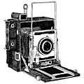 Old Timey Vintage Camera by Karl Addison