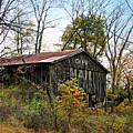 Old Tobacco Barn by Brenda Conrad