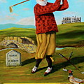 Old Tom Morris by Brian Hustead