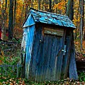 Old Tool Shed by Julie Dant