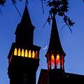Old Town Hall Crescent Moon by Sven Kielhorn