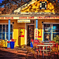 Old Town Ice Cream Parlor by Diana Powell
