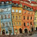 Old Town In Warsaw # 32 by Aleksander Rotner