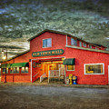 Old Town Mall Bandon by Thom Zehrfeld