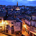 Old Town Of Porto In Portugal At Dusk by Artur Bogacki