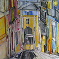 Old Town Streets by Natali Dilnott