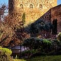 Old Town Walls Toledo Spain by Joan Carroll