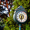 Old Towne Daphne Clock  by Michael Thomas