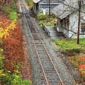 Old Train Station Norwich Vermont by Edward Fielding