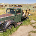 Old Truck At The Ghost Town Of Bodie California Dsc4395 by Wingsdomain Art and Photography