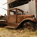 Old Truck In Old Forgotten Places by Jeff Swan