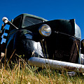 Old Truck Low Perspective by Chris Brannen