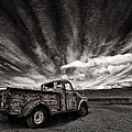 Old Truck (mono) by Thorsteinn H. Ingibergsson
