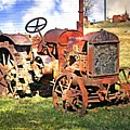 Old Tyme Tractor by Marty Koch
