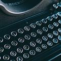 Old Typewriter by Jose Luis Agudo
