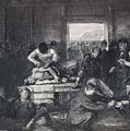 Old Varsity Men Break In And Give Advice, First State By George Bellows  by George Bellows