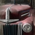 Old Vehicle Ix - Ford Truck by David Gordon
