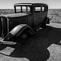 Old Vehicle Vi Bw by David Gordon