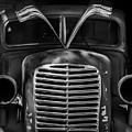 Old Vehicle X Bw by David Gordon