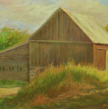 Old Vermont Barn by Phyllis Tarlow