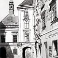 Old Viennese Courtyard by Johannes Margreiter