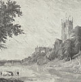 Old View Of Durham Cathedral by Roy Pedersen