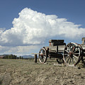 Old Wagon Out West by Jerry McElroy