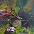 Old Watering Can  by Lizzy Forrester