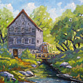 Old Watermill by Richard T Pranke