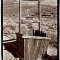 Old Well Bodie Ghost Twon California by Steve Gadomski