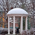Old Well In The Snow by Frank Boellmann