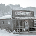 Old West With Superstition Mountains by Darrell Foster