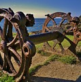 Old Winch Tintagel by Richard Brookes