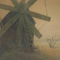 Old Windmill by Alla Parsons