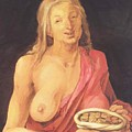 Old With Purse 1507 by Durer Albrecht