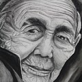 Old Woman by Amit Mitra