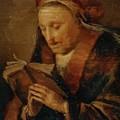 Old Woman Praying by Dou Gerrit