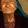 Old Women by Artist Nandika Dutt