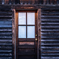 Old Wood Door And Light by Terry DeLuco