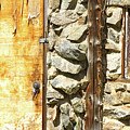 Old Wood Door Window And Stone by James BO  Insogna