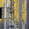 Old Wooden Barn by Rose Webber Hawke