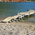 Old Wooden Dock by Phyllis Taylor
