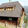 Old Wooden House On Mountain by Goce Risteski