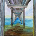 Old Wooden Pier by Irving Starr