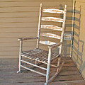 Old  Wooden  Rocking  Chair by Carl Deaville