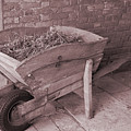 Old Wooden Wheelbarrow by Kevin Richardson