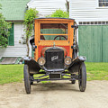 Old Woodie Model T Ford  by Edward Fielding
