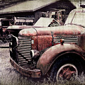 Old Work Trucks by Perry Webster